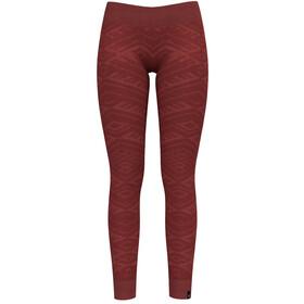 Odlo Suw Natural + Kinship Warm Ondergoed onderlijf Dames rood